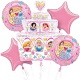 Disney Princess Cake Balloon Bouquet (Inflated)