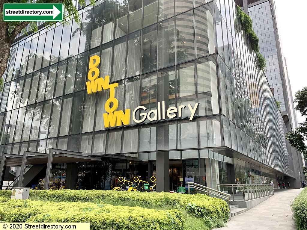 OUE Downtown Gallery Shopping Mall