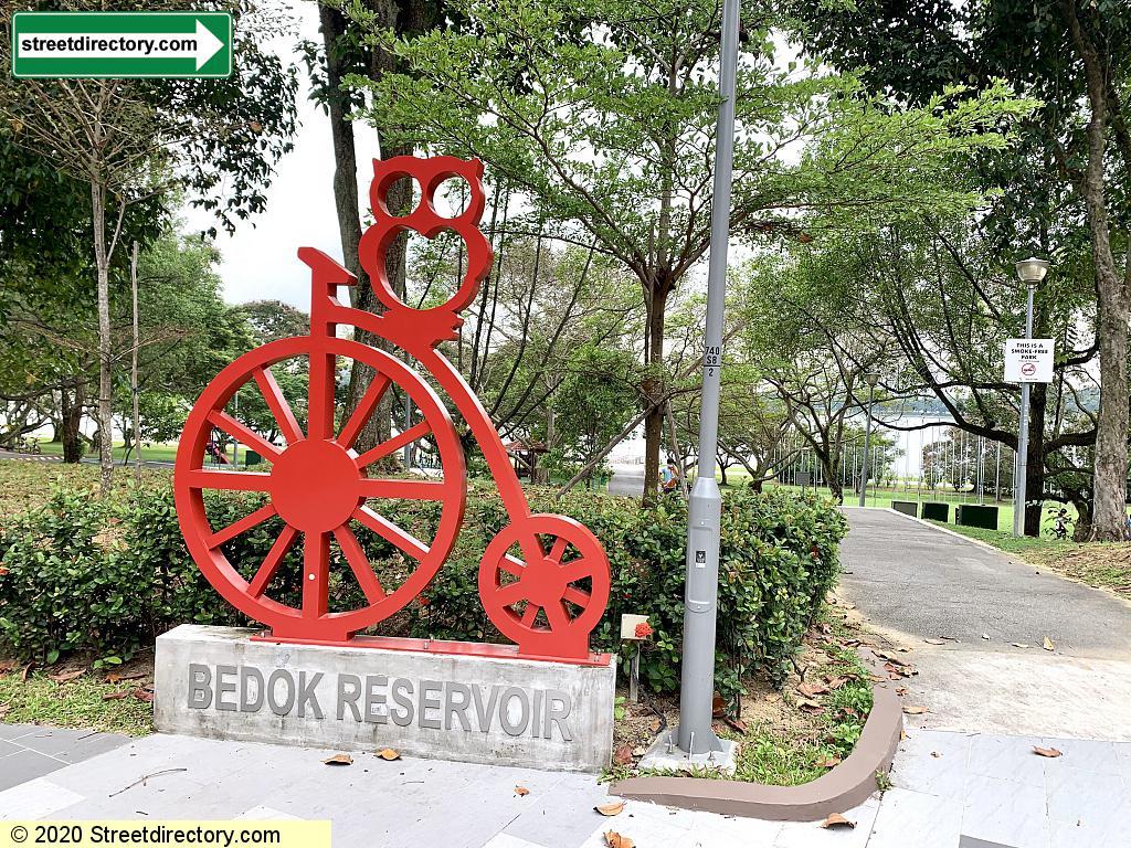 Bedok Reservoir Park Playground & Flag Poles @ Jetty Walkway