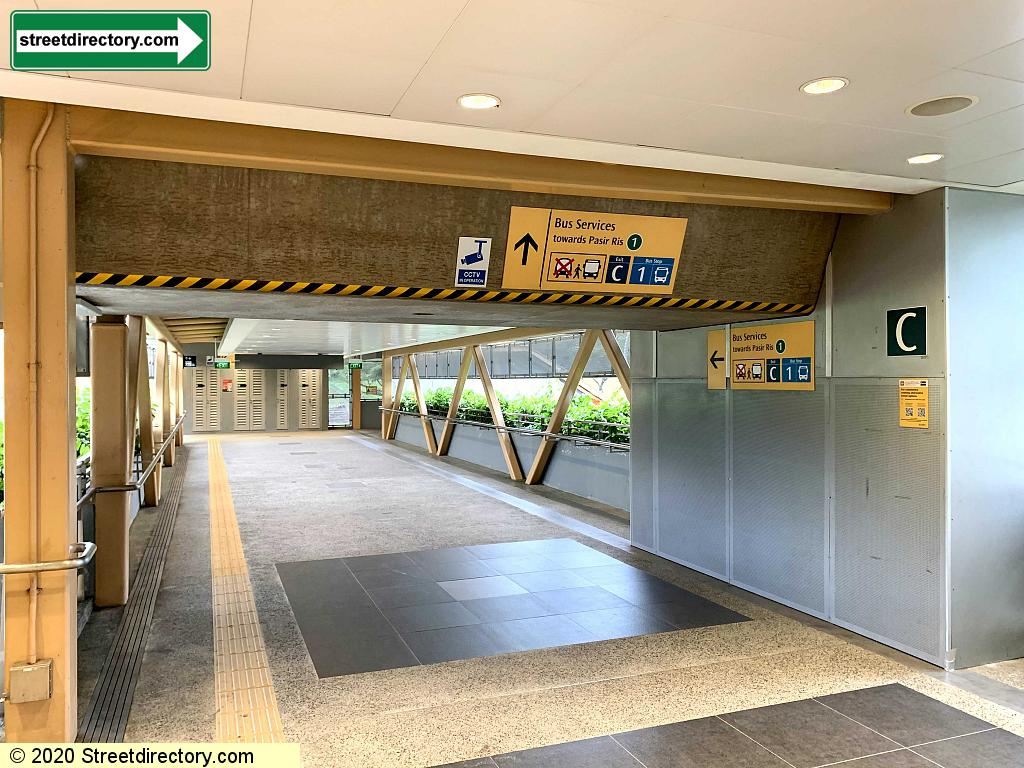 Entrance/Exit C - Commonwealth MRT Station (EW20)
