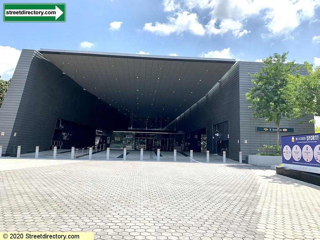 Entrance/Exit A - Stadium MRT (CC6)