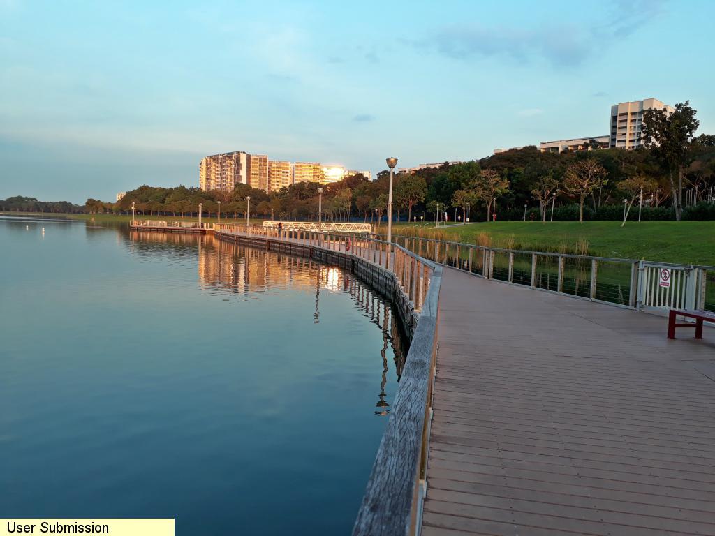 Bedok Reservoir Jetty Walkway