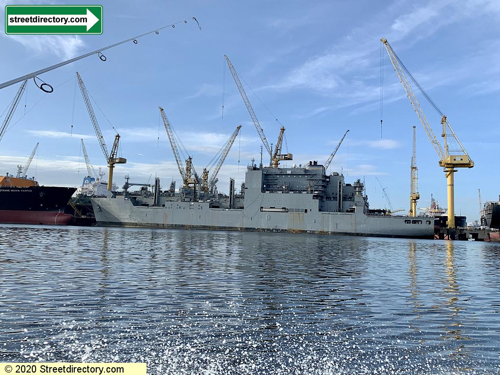 Sembawang Shipyard Jetty