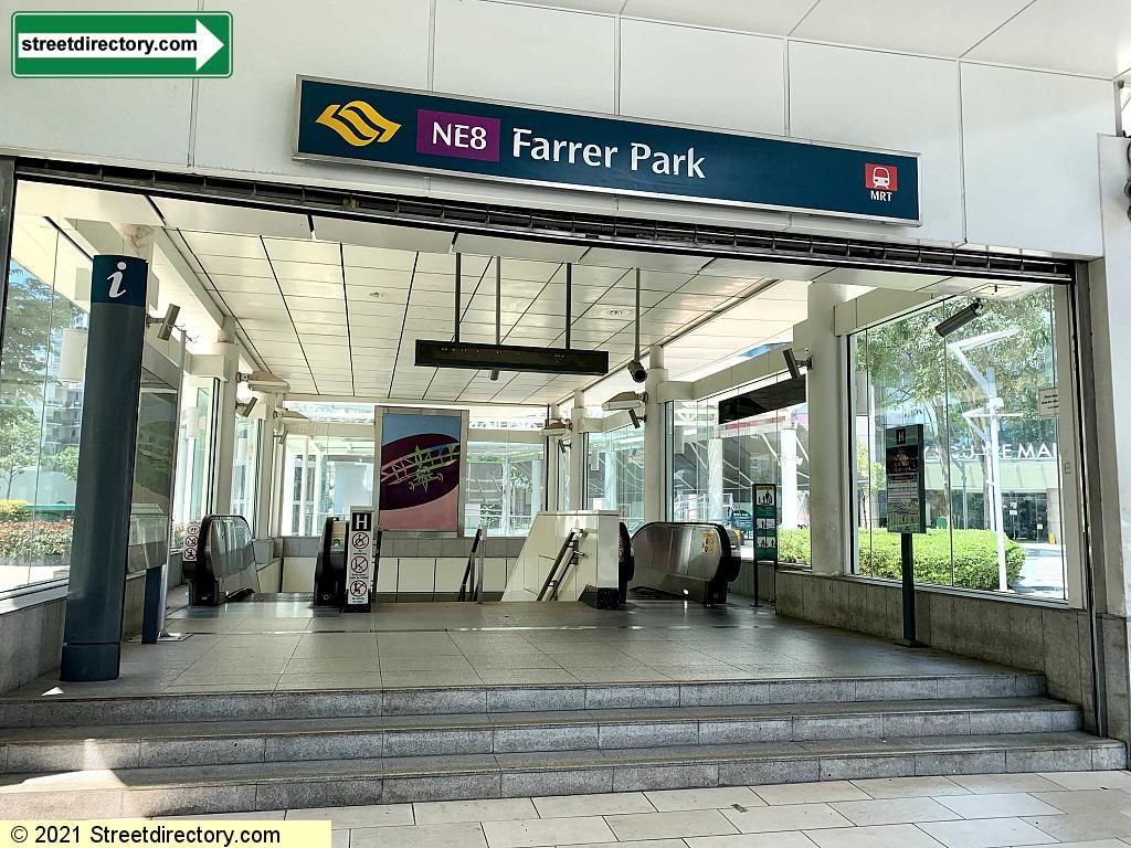 Entrance/Exit H - Farrer Park MRT (NE8)