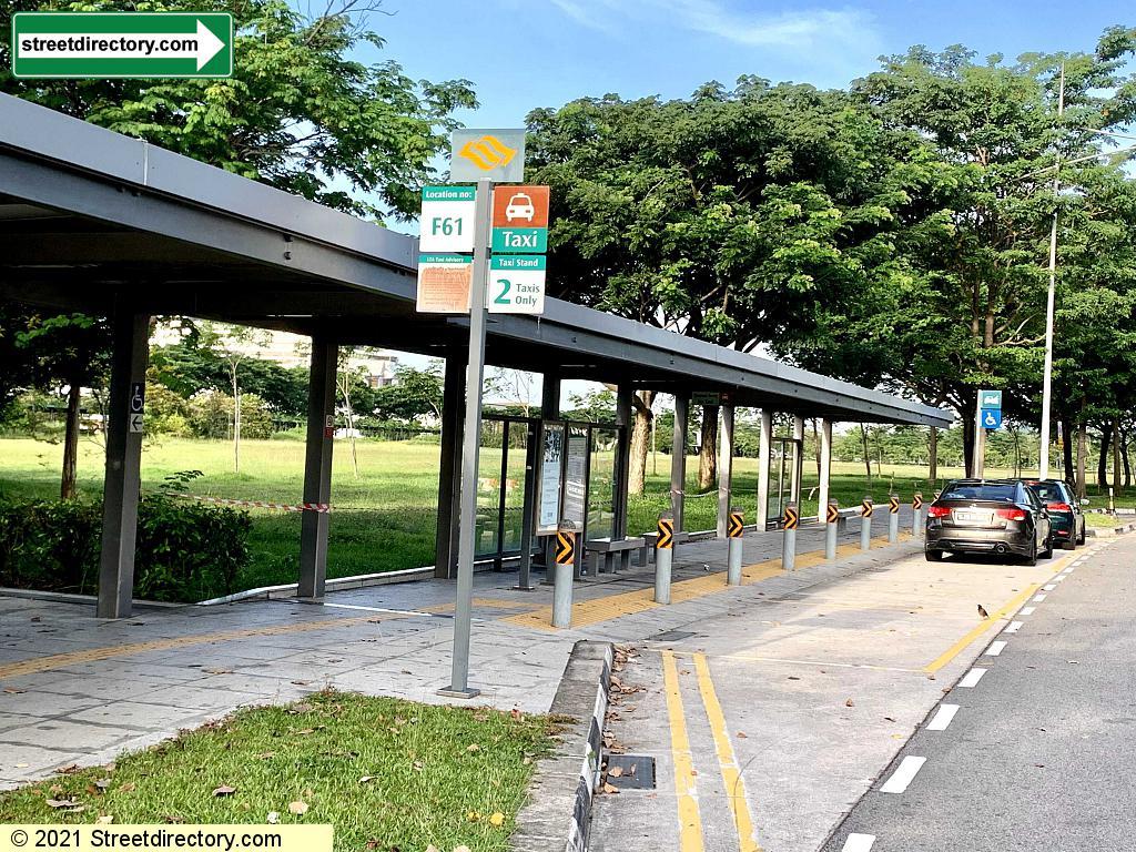 Taxi Stand F61 - Marina Coastal Drive outside Marina South Pier MRT Station