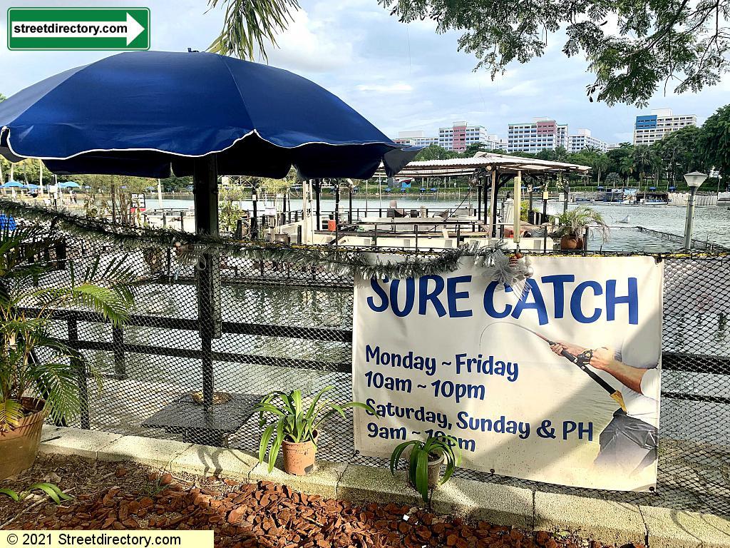 Sure Catch Pond - Pasir Ris Town Park