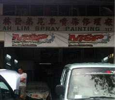 Ah Lim Spray Painting Photos