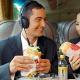 Meals onboard Aeroline