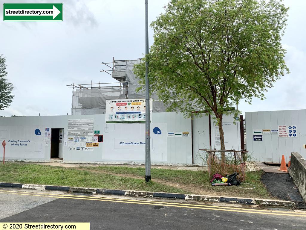 JTC aeroSpace Three @ Seletar Aerospace Park (U/C)