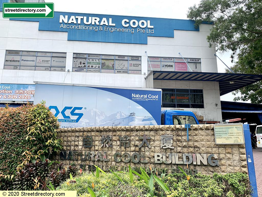 Natural Cool Building