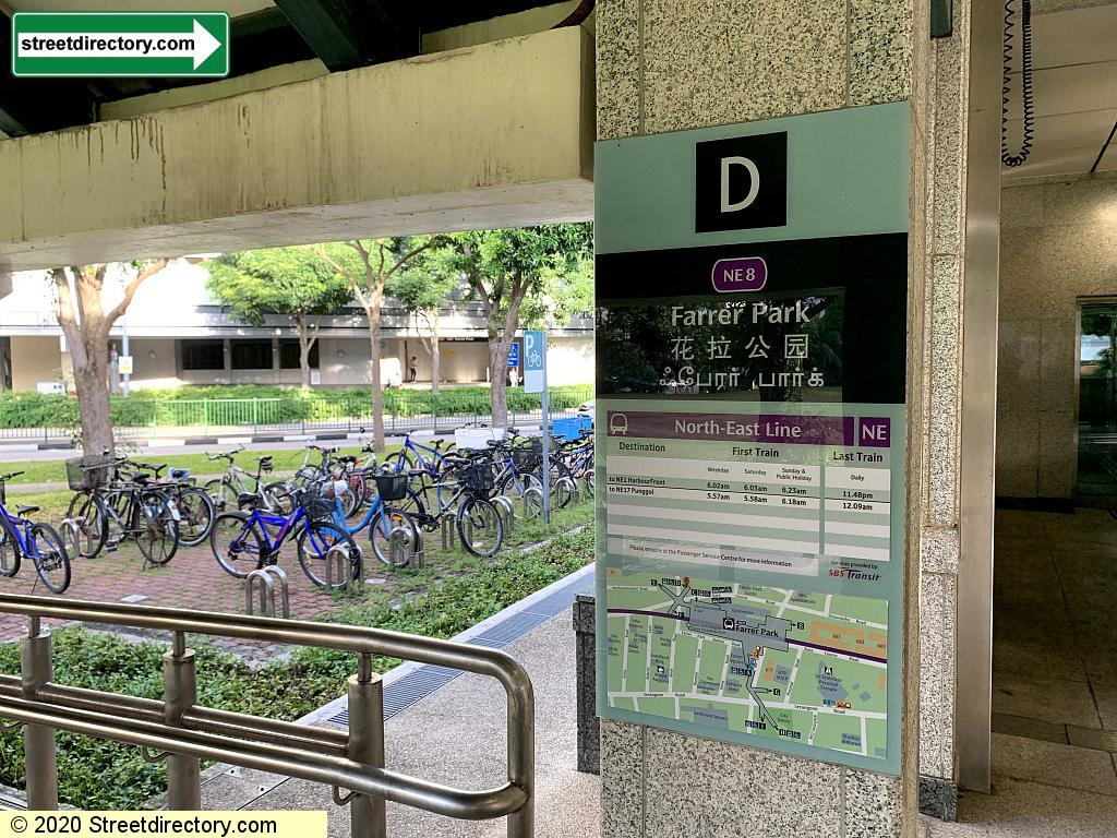 Entrance/Exit D - Farrer Park MRT (NE8)