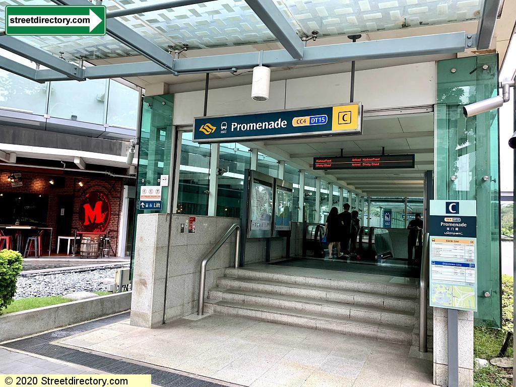 Entrance/Exit C - Promenade MRT (CC4 / DT15)