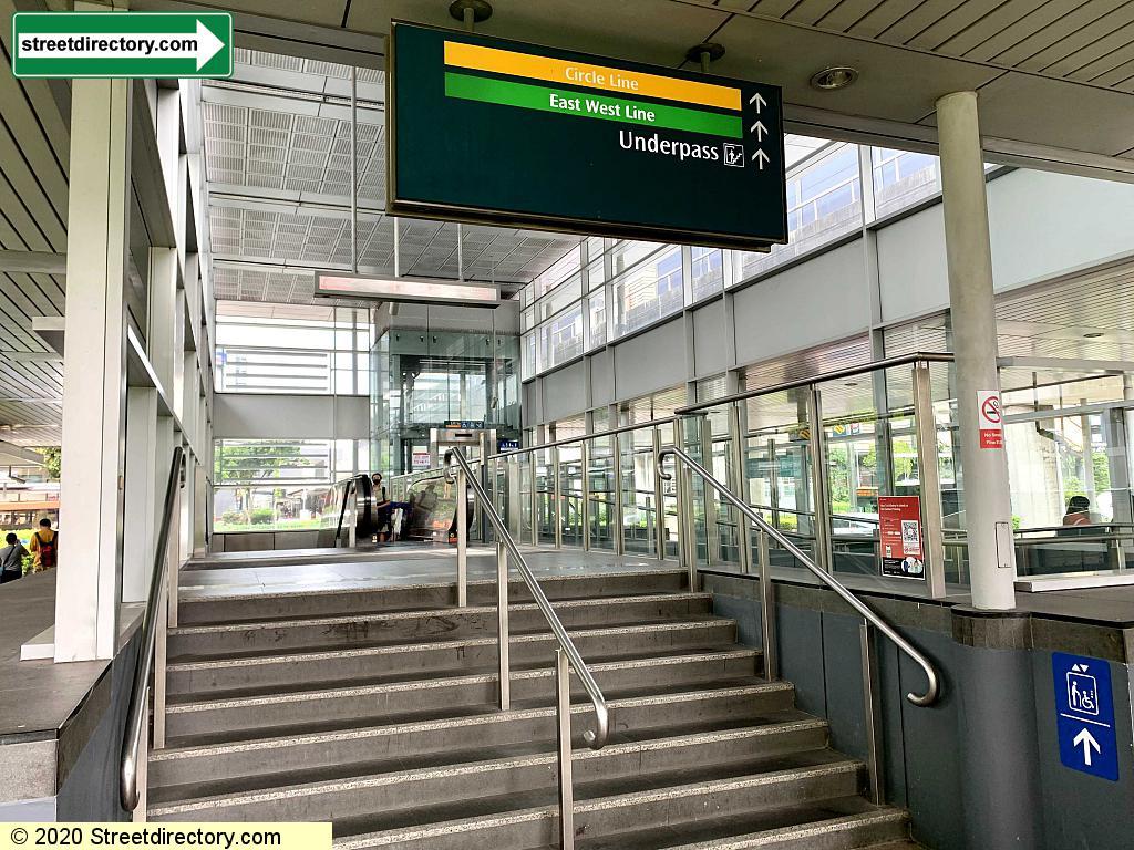 Entrance/Exit C - Paya Lebar MRT (EW8 / CC9)