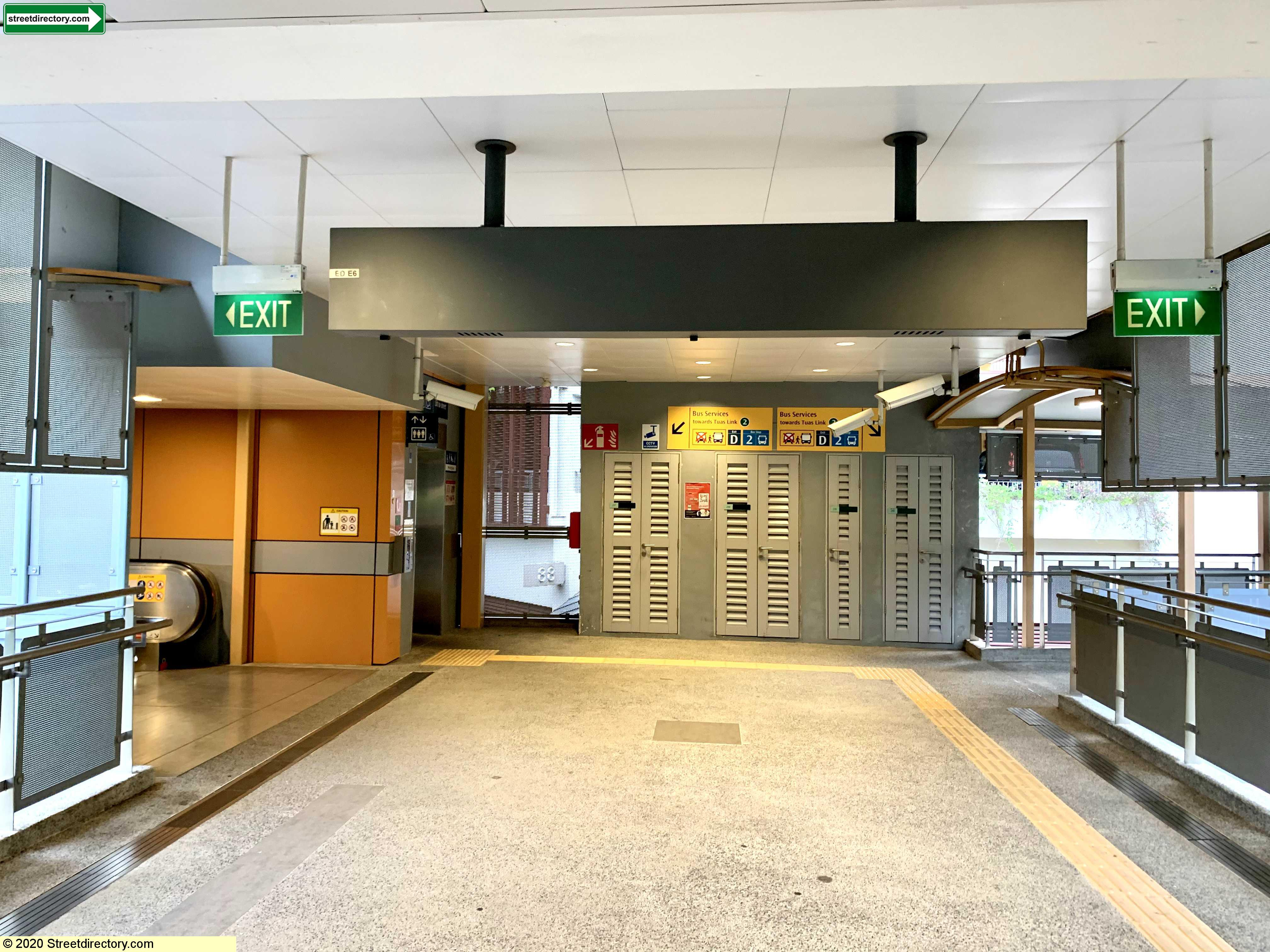Entrance/Exit D - Commonwealth MRT Station (EW20)