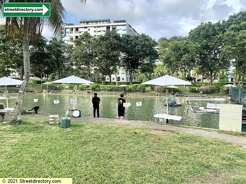 Prawning Pro Pond - Pasir Ris Town Park